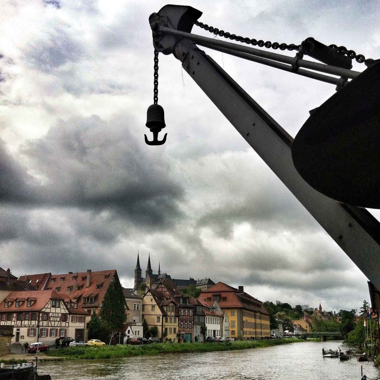Taking Photos Dark Skies River Regnitz