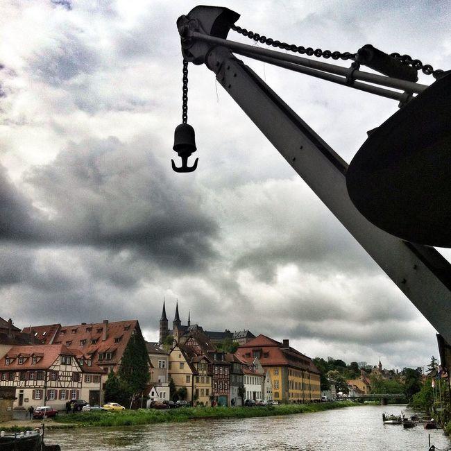 Taking Photos Dark Skies River Regnitz