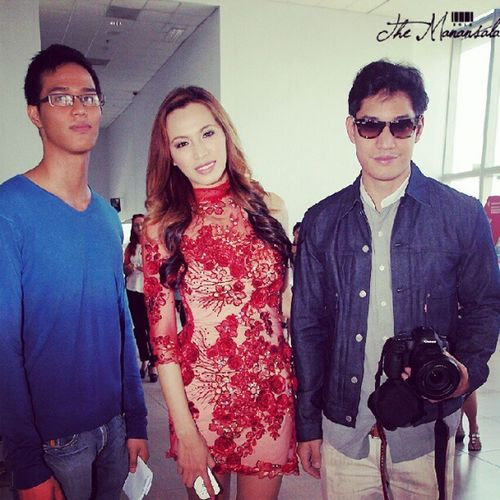 Rollo Abad, Divine Lee, Victor Basa @ the Philippine Fashion Week holiday 2012 Phfw Divinelee Victorbasa Themanansala