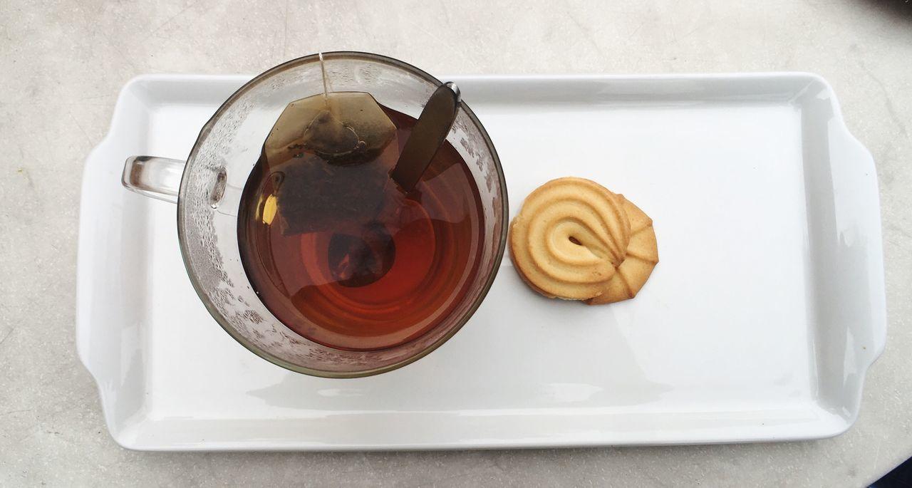Teatime Tea Tea Time Tee Biscuit Cookie Food