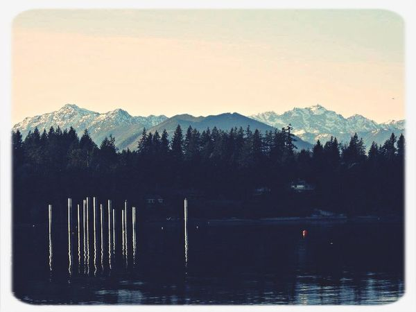 PNW At Its Finest Sunset In Olympic Mountains Seabeck The Week On EyeEm