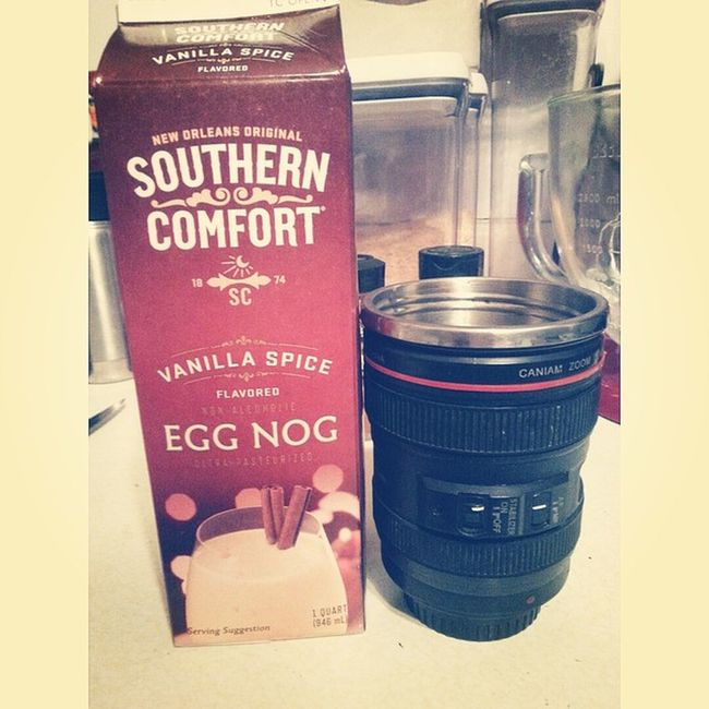 My winter addiction SouthernComfort Eggnog Dslrcup Canoncoffeemug