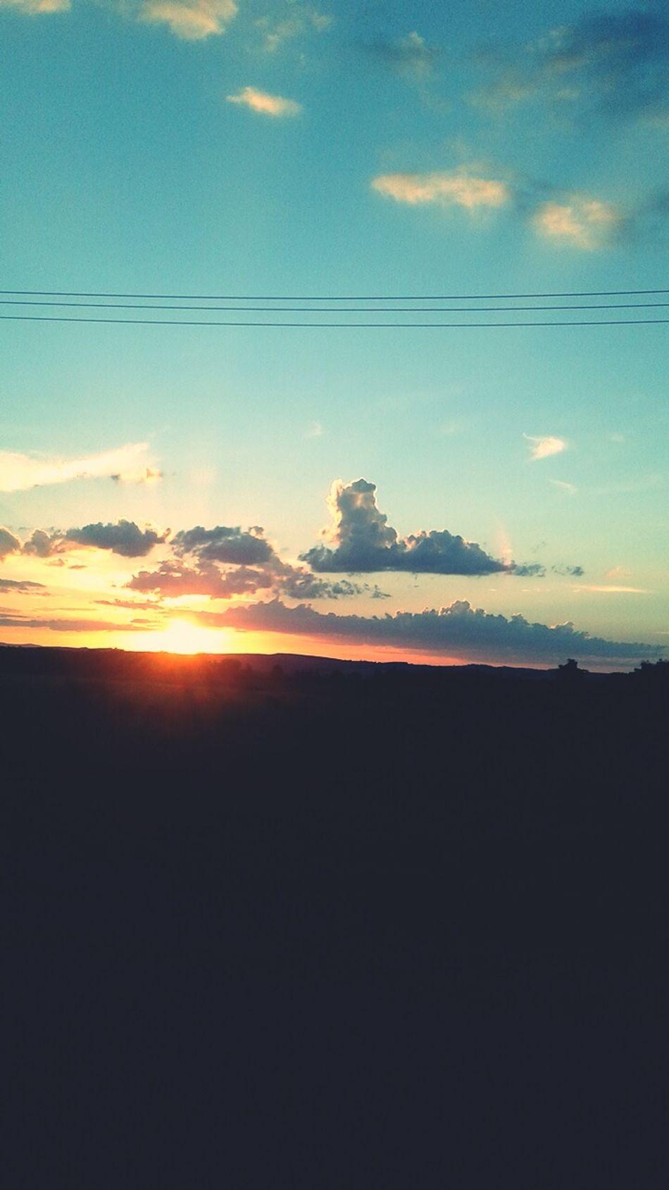 De sábado, Pôr do Sol Lindo *-*