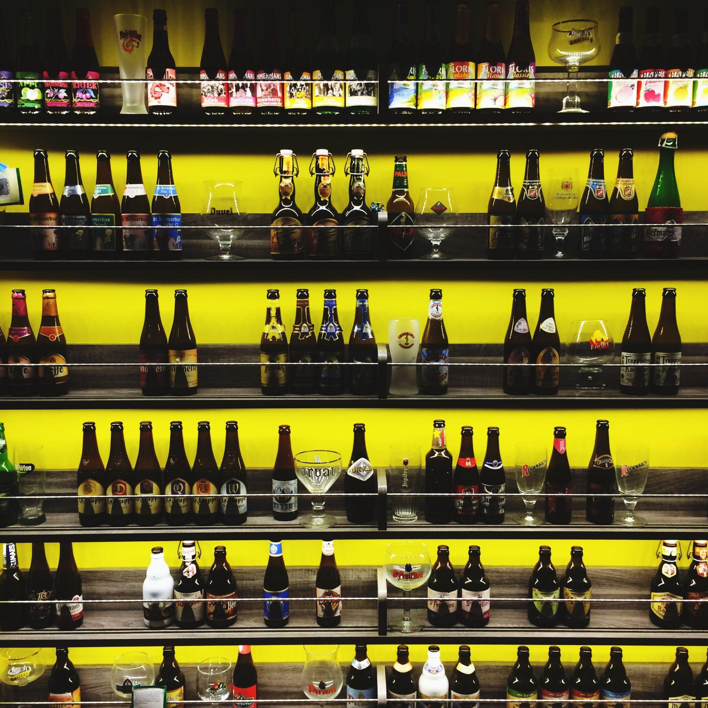IPhoneography Dinner Beer Bottles