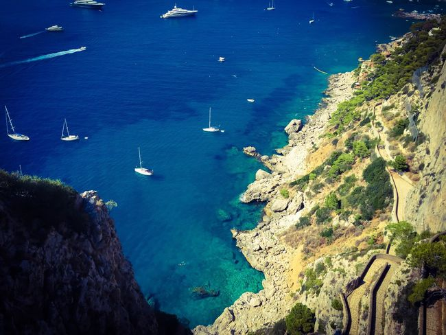 Capri, Italy.... Capri, Italy Shiplife Travel Discovery Sea