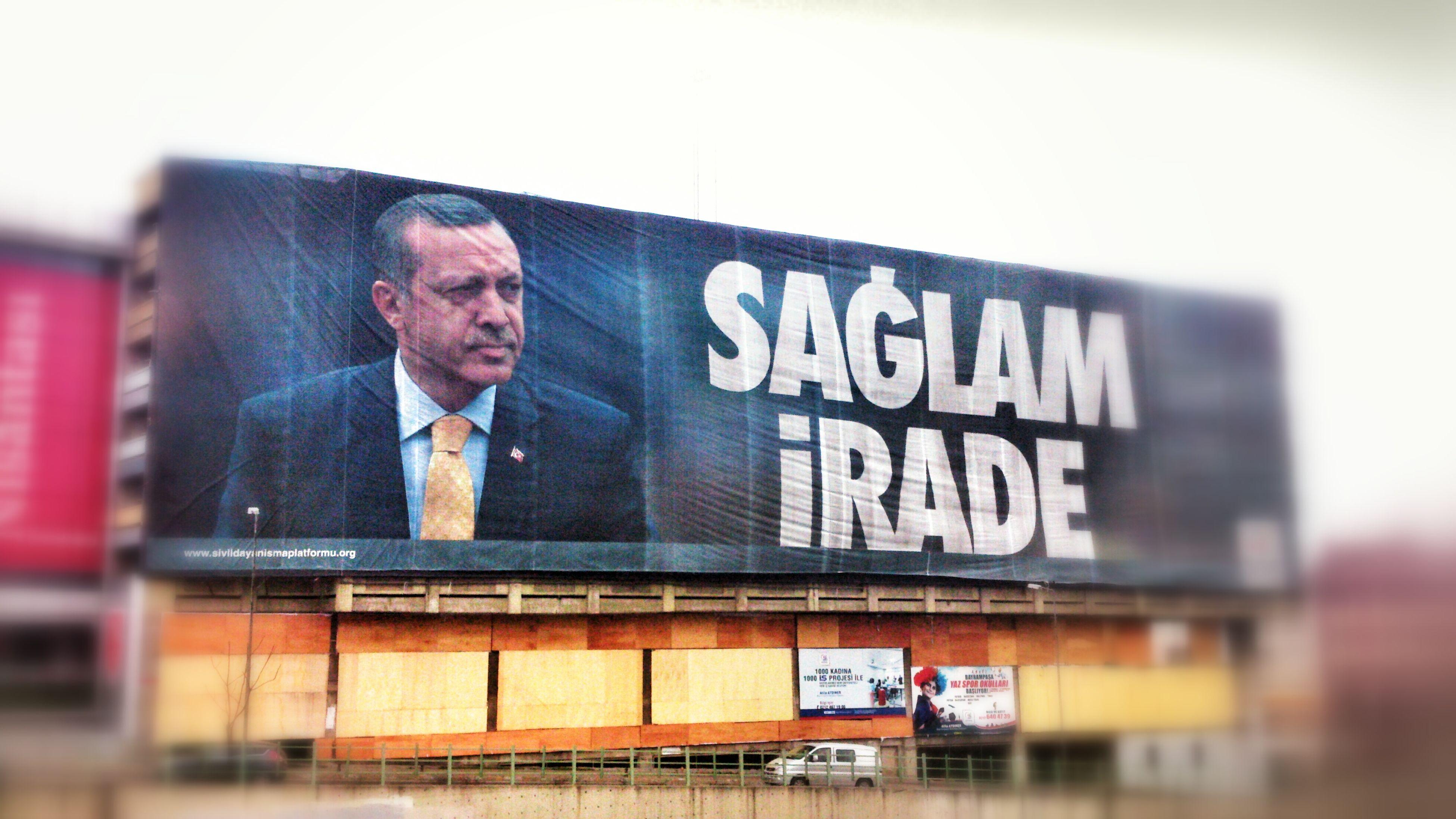 SAĞLAM İRADE :-) Recep Tayyip Erdogan RTE