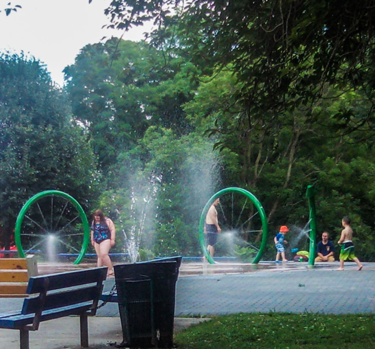 Cooling off the summers heat @ houston park in Roxborough . Philadelphia Summertime Water Refreshing :) Cooling  Kids Kids Being Kids Check This Out Roxborough Family Time Benches Relaxation EyeEm Gallery Urban Landscape Urban Fun AndroidPhotography Howard Roberts