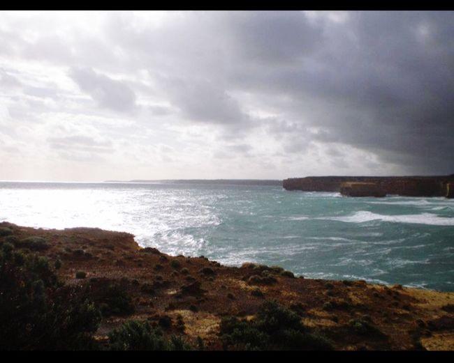 Enjoying the view The Great Ocean Road, Victoria Australia Beautiful Apostles