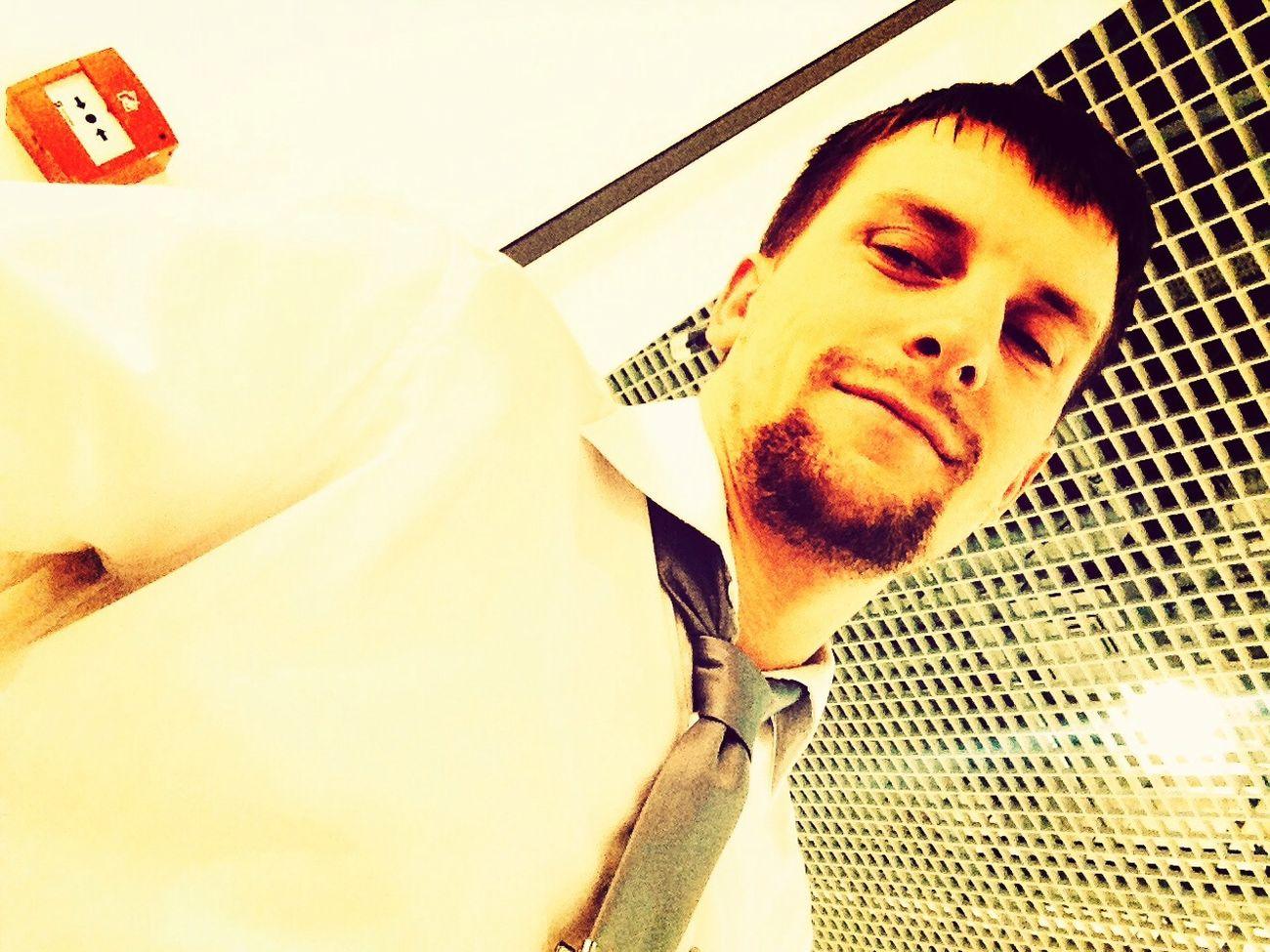 At work ))
