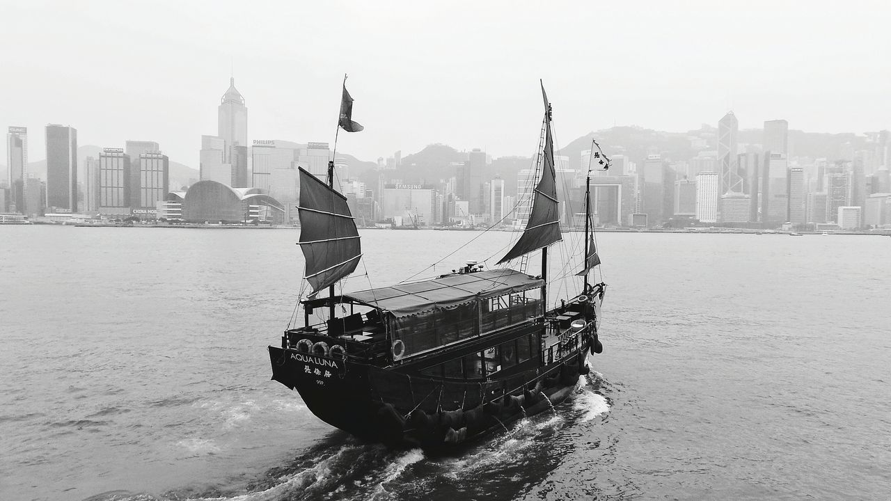 Hongkong Photos Hong Kong Junk Hong Kong Harbour I Love Hong Kong Blackandwhite Photography Monochrome HongKong Hong Kong Victoria Harbour Hong Kong Skyline