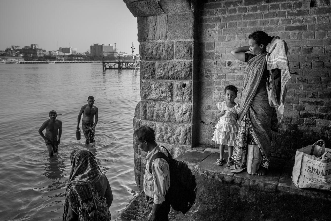 By the Banks Of The Ganga River In Kolkata India West Bengal