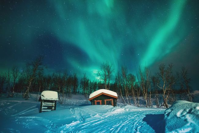 Lapland Dreams | Check This Out Landscape_Collection Nature Collection EyeEm Best Shots EyeEm Masterclass The Traveler - 2015 EyeEm Awards The Moment - 2015 EyeEm Awards EyeEm Nature Lover Sky Collection Northern Lights