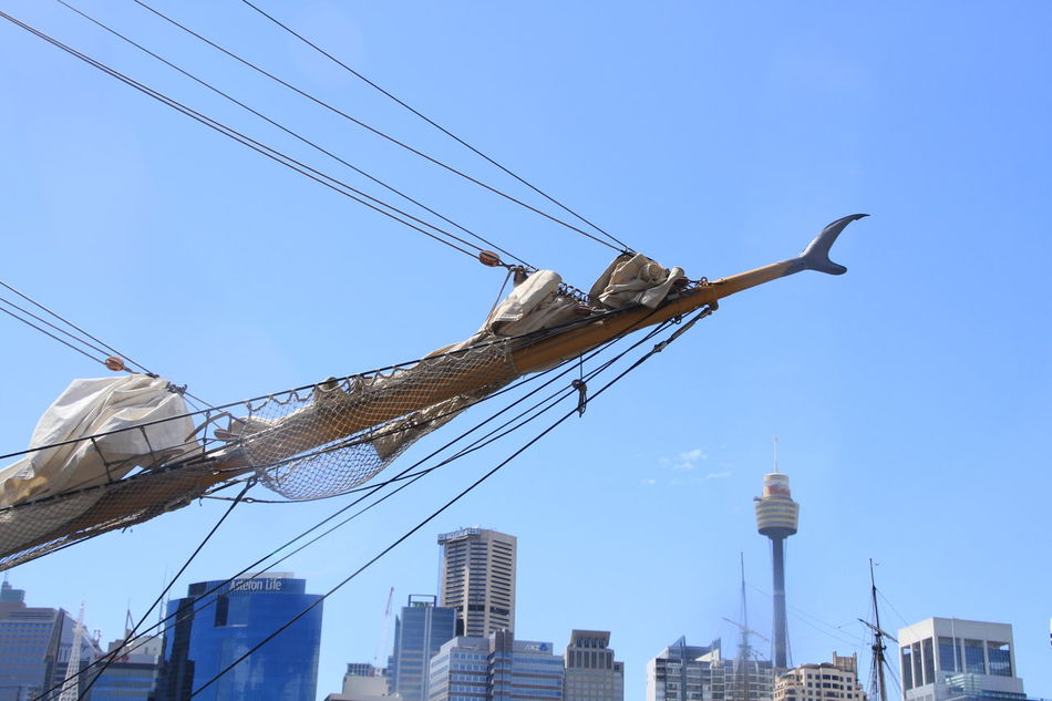 Bowsprit City Clear Sky Nautical Vessel Sailing Ship Skyscraper Sydney Harbour  Tall Ships Race