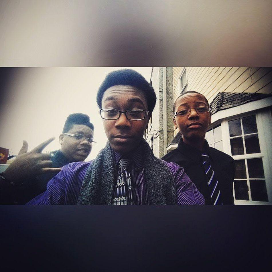 Church is definitely on the move. || Sundayselfie Wavy Brothers TodayIGotTimeCuz