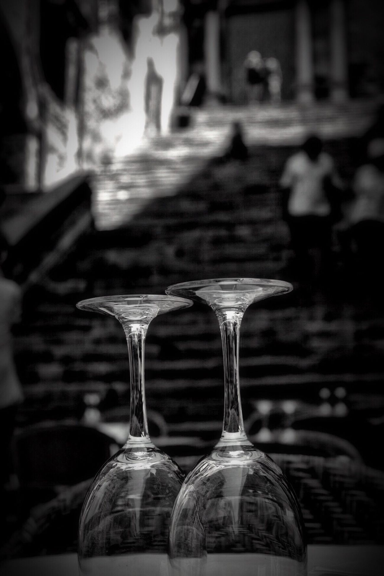 Focus On Foreground Indoors  No People Table Built Structure Close-up Drink Day Architecture Fujifilm Myfujifilm Blackandwhite