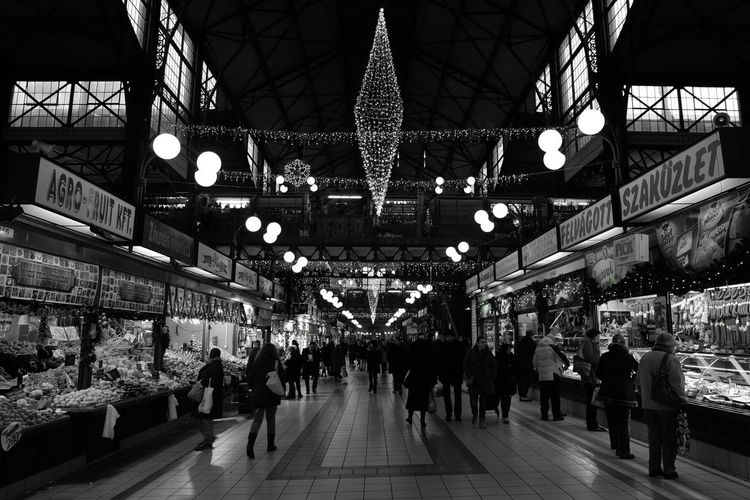 Large Group Of People Ceiling Men Illuminated Travel Destinations Indoors  Real People Women Architecture Railroad Station Crowd Shopping Mall People Adults Only Adult Day