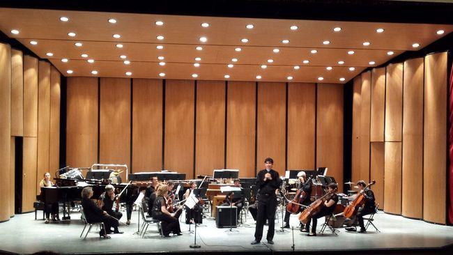 El mtro. Eduardo García Barrios dirigió a la Orquesta de Baja California en un concierto espectacular. FIT2014 Matamoros