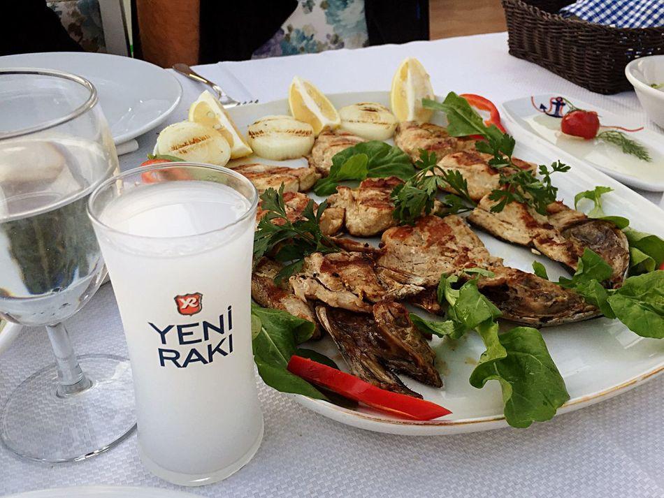 Rakı Balık Roka Hereke HerekeBalık Sahil Fish Seafood Eating First Eyeem Photo