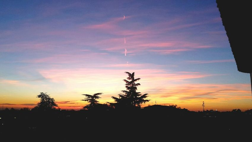 ?? Workview Sunset_captures Skycolors Wonderful Breathtaking View Tramonto Rovato Italy
