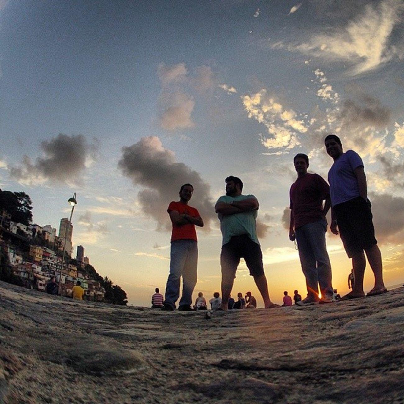 Olá, saudades. Salvador Ssa Brasil Sunset