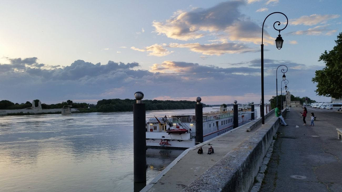 Rhône Riverside Arles River France Getting Inspired Clouds And Sky Sky Fotography