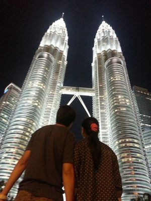 Love at Petronas Tower by RockChic