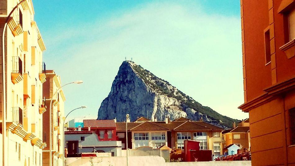 The KIOMI Collection Rock Gibraltar Gibraltar Rock SPAIN La Linea De La Conception Lifestyle Colors Of Light Spain, Andalucia Spain_gallery Sunny Day Rock In The City! Rock In Far Blue Sky Blue Wave Favelas Showcase April Spain_beautiful_landscapes Landscape_Collection Nature_collection Natu