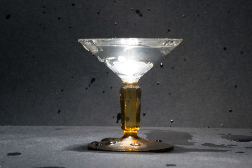 Close-up Dirty Drink Drinking Glass Geometry Glass Glass - Material Indoors  Light Overexposed Simplicity Studio Shot Symmetry Table
