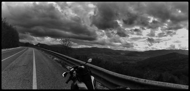 1st day of travel ✌️256 km Rome to Alba Adriatica Streetphoto_bw Blackandwhite Monochrome Bw_collection TheMinimals (less Edit Juxt Photography) Traveling Panorama