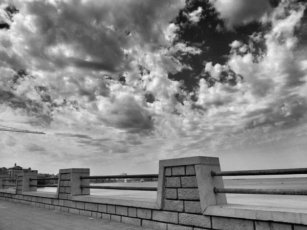 Clouds Black And White Taking Photos Urban