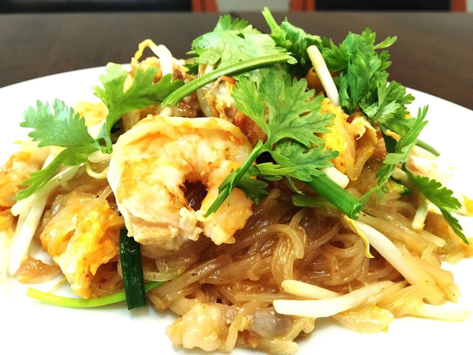 Food Hobby Food And Drink Foodphotography thaifood Ready-to-eat Thainoodle Phadthai Main Course Thaistyle Food Serving Dish Cooked First Eyeem Photo Enjoying Life