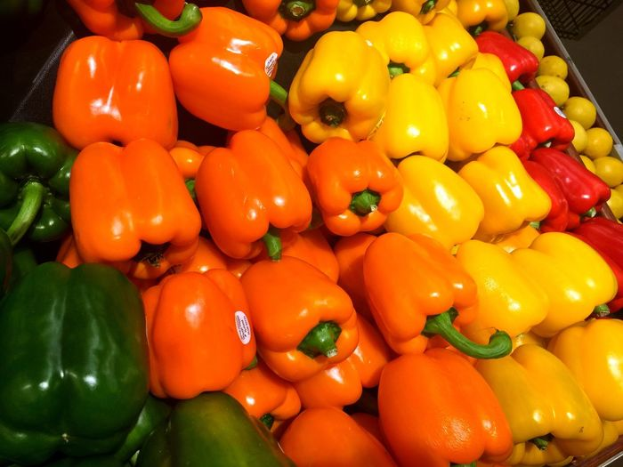 Ring my Bell Bell Pepper Colorful Good Food Organic Food Nature's Bounty Farm Fresh Vegetables Veggies
