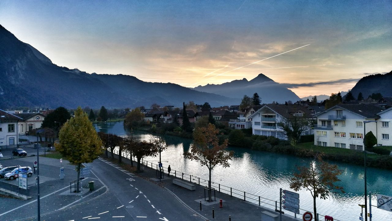Landscape Eye4photography  Amazing Place Cityscape EyeEm Best Edits Sunset Weather Photography Clouds And Sky Officeview Interlaken Switzerland Bernese Oberland Mountains View Niesen