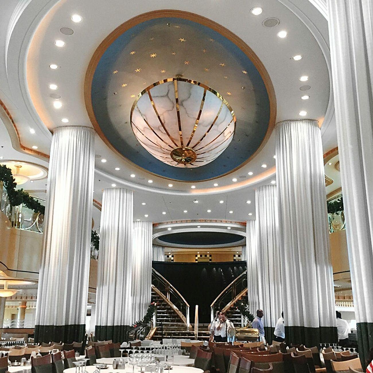 Cruise Ships are gorgeous!!! Cruise Ball Mural Fresco