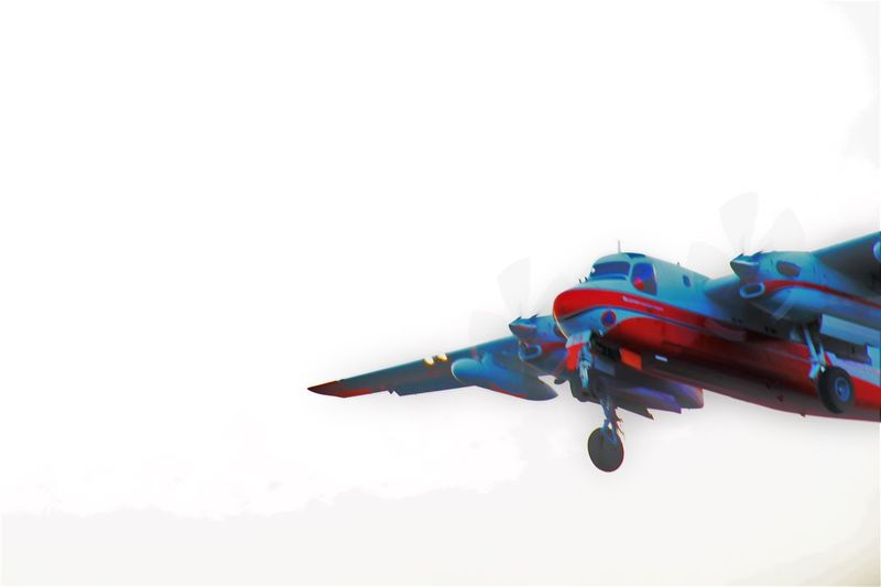 Air Vehicle Airplane Flying No People Outdoors Sky Transportation Water Bomber