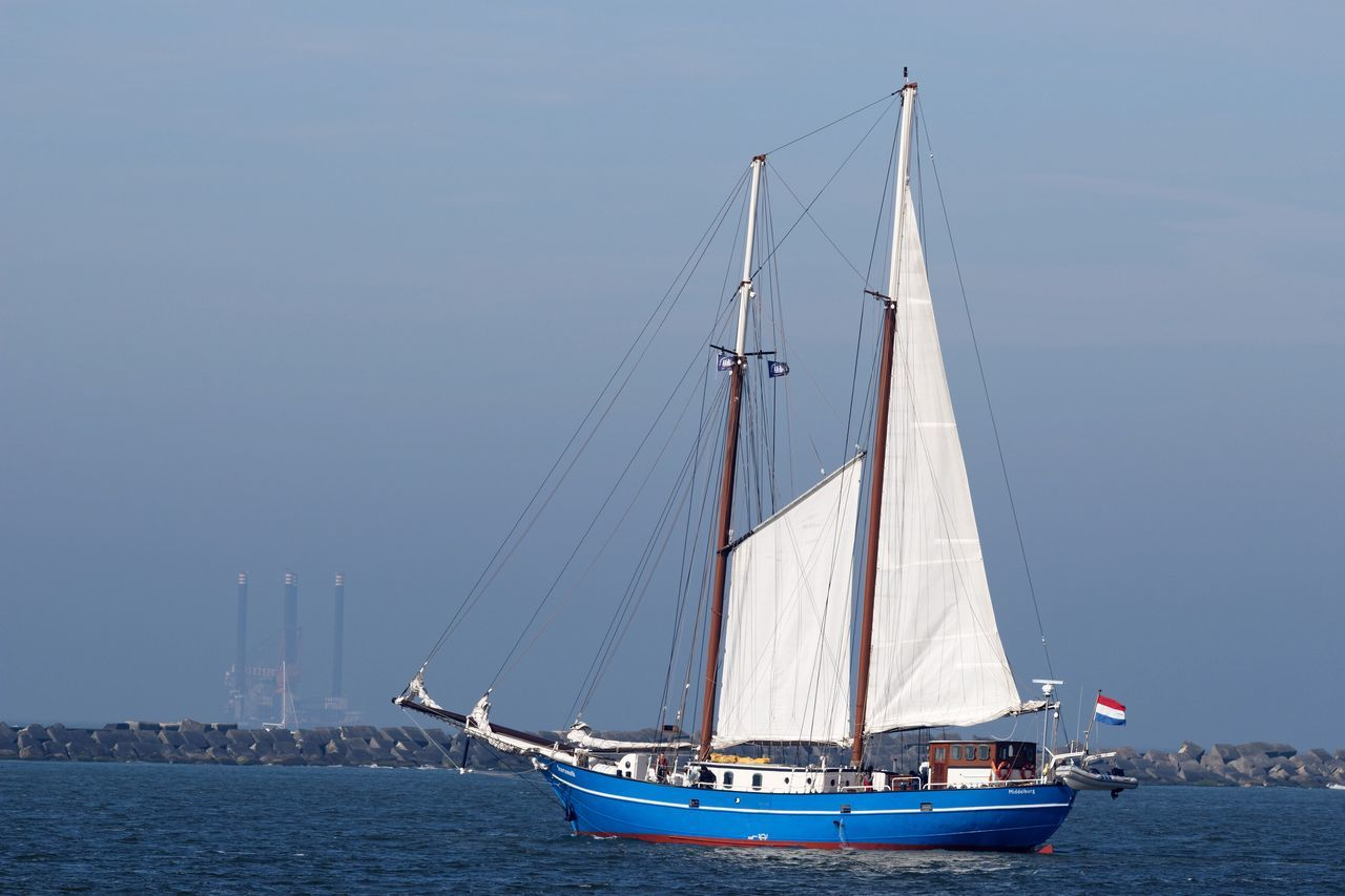 nautical vessel, mode of transport, transportation, sea, sailboat, boat, water, mast, sailing, waterfront, day, sky, outdoors, scenics, no people, clear sky, nature, moored, yacht, horizon over water, sailing ship, beauty in nature, tall ship