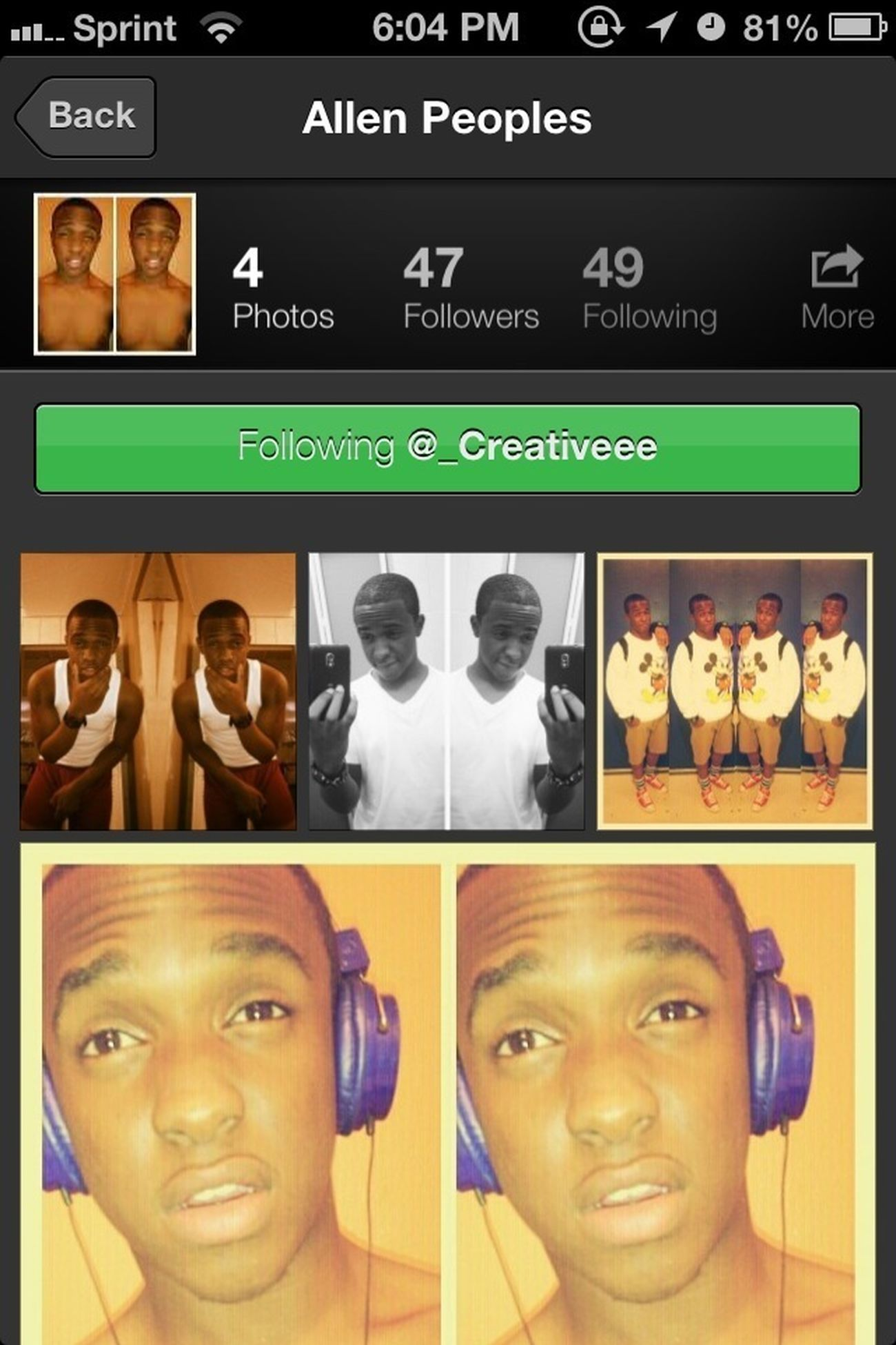 Y'all Go Follow @_creativeee