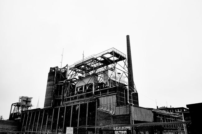 industrial complex Black & White Sony Alpha 58 Münster Hafen Industrial Building