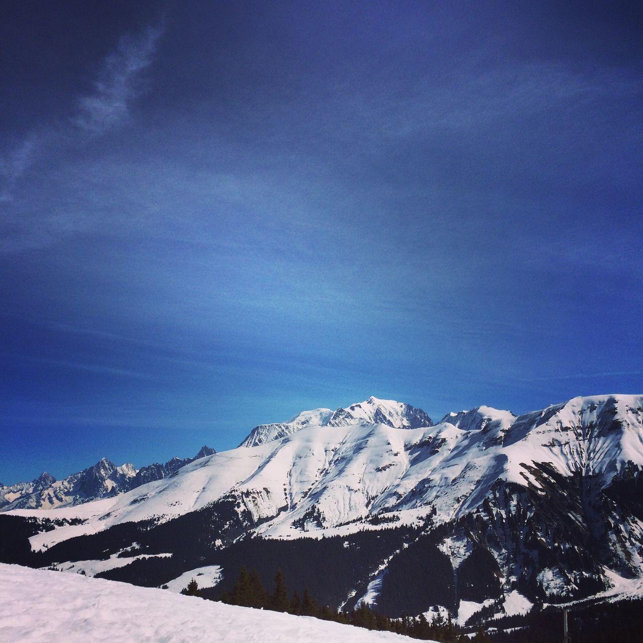 Megeve Saint Gervais Mont Blanc Ski Neige