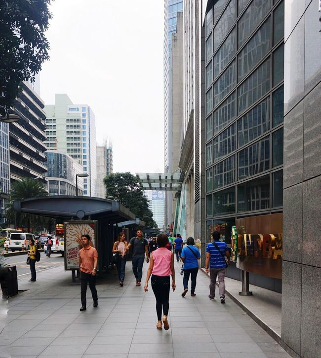 Metromanila Streetphotography Leisure Stroll Makati City Ayala Philippines Urban Walking Business Center Women At Work TakeoverContrast