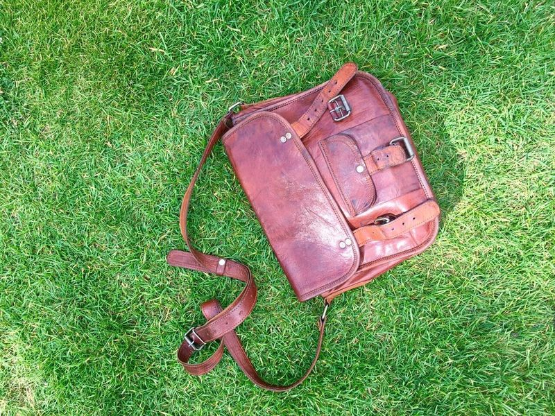 Lieblingsteil Grass High Angle View Green Color Field Outdoors Shoe No People Day Nature Leatherbag Sustainability