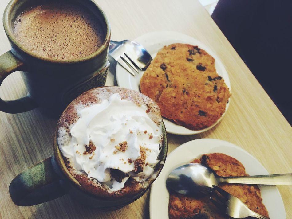 Chocolate Hot Chocolate Chocolate Cookie Sweet Food Breakfast Food