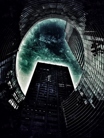 Bloomberg Building, lexington ave, new york, look up, portal in the sky