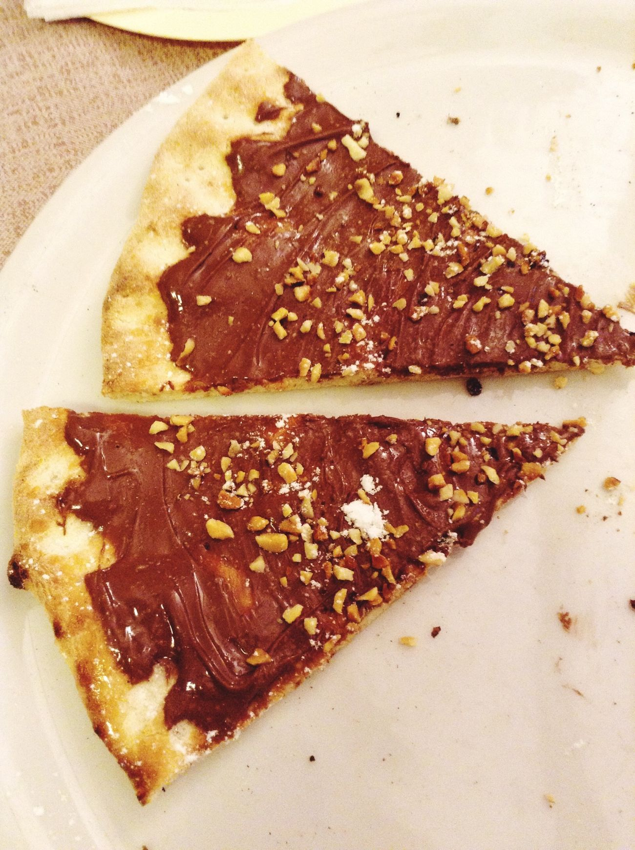 The Five Senses Nutella Pizza Hungry