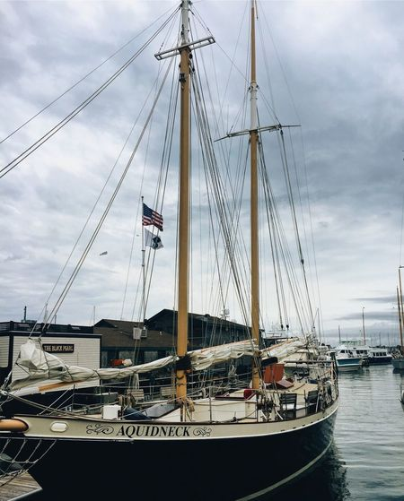 Docked Nautical Vessel Mast Harbor Boat Water Sailboat First Eyeem Photo EyeEmNewHere