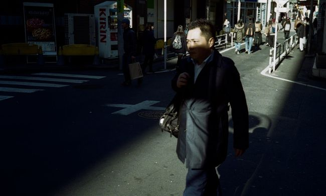 Tokyo Street Photography Light And Shadow Colors Street Life People Capture The Moment Everybodystreet Urban Lifestyle EyeEm Best Shots Eye4photography  Streetphotography AMPt - Street Street Photography Film Film Photography 35mm Film