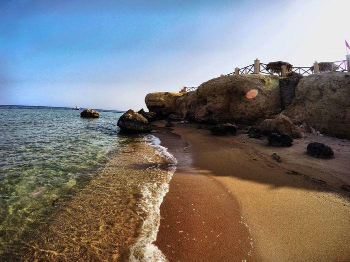 Beautiful day in sharm el sheikh Sharm El-Sheikh Egypt Hilton Hilton Hotel Beach Beachphotography First Eyeem Photo