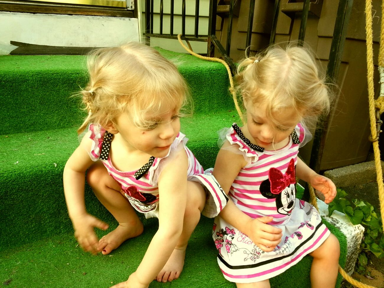 Love These Girls My Granddaughters Twins My Life Twinsies! Twin Love Sisters Love Is Life♥ Family Love  My World ♥