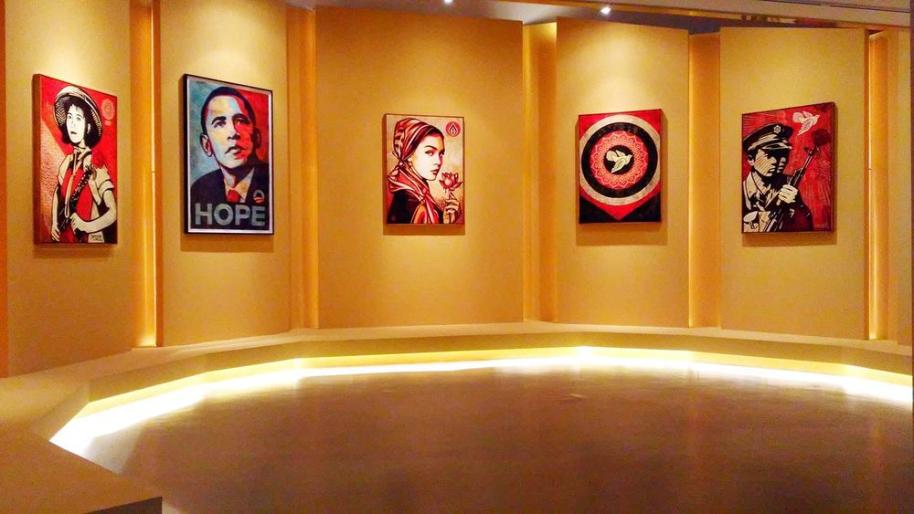 Peace & Justice Shepard Fairey OBEY Hope Seoul Art Center