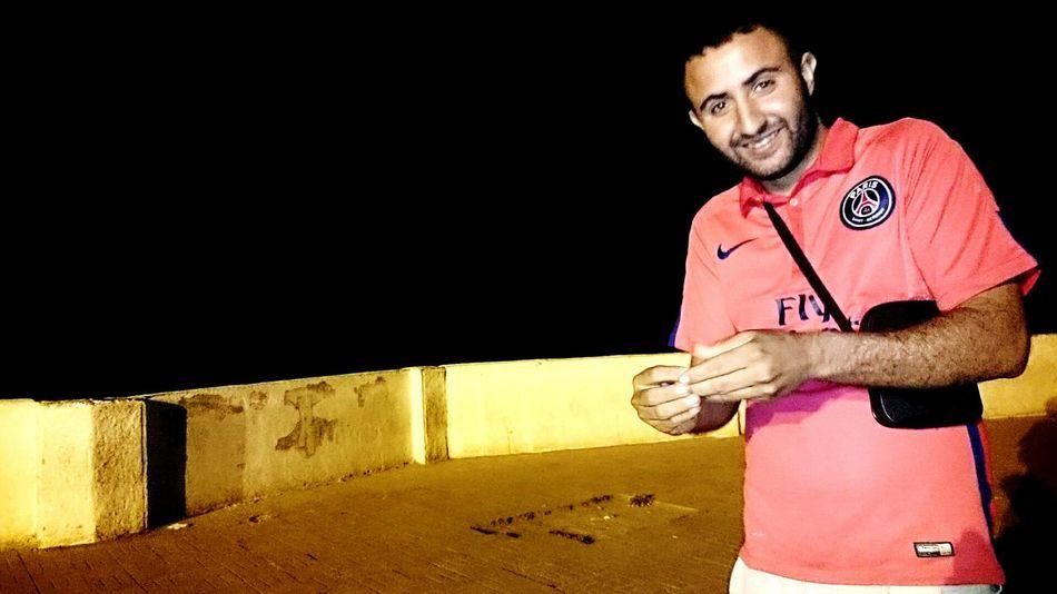 Nightlife Nightphotography PSG  Paris Saint Germain Red Tshirt